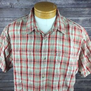 The North Face Men's 2XL SS Button Front Shirt EUC